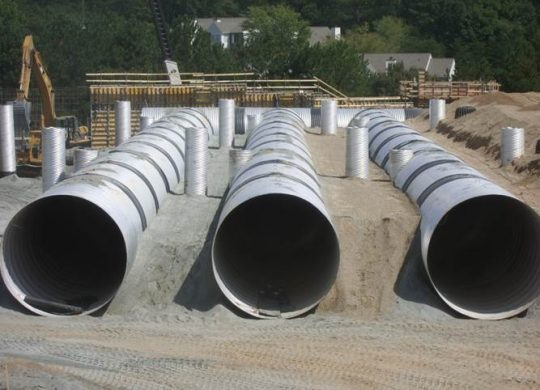 stormwater detention system