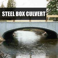 Steel Box Culvert Button