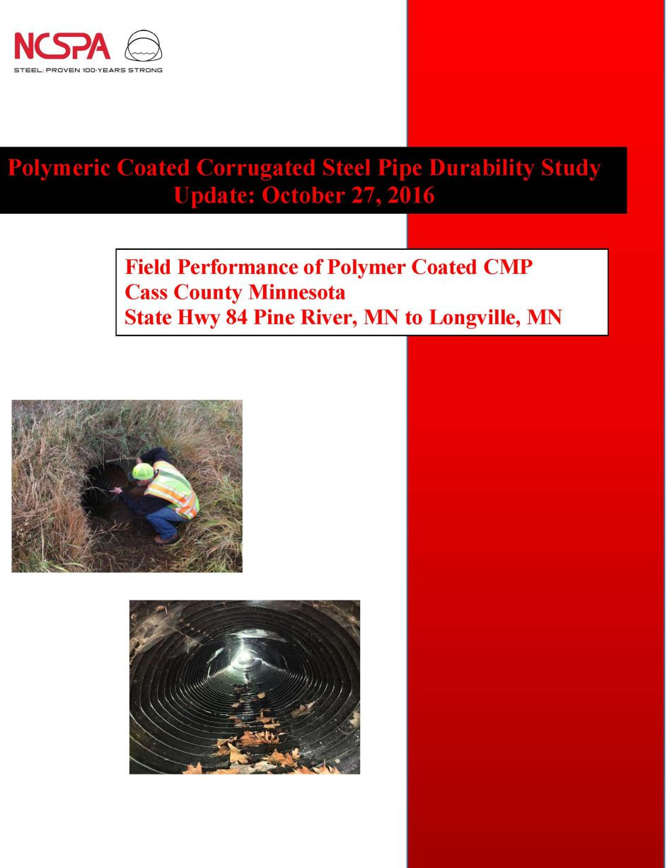 polymeric coated corrugated steel pipes polymer coated corrugated steel pipes Polymer Coated CSP