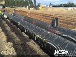 detention system polymer coated csp Electrocoagulation Stormwater Treatment System