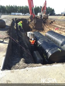 Water quality system polymer coated csp Electrocoagulation Stormwater Treatment System