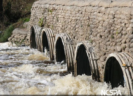 double walled csp polymer coated corrugated steel pipe polymer coated csp culvert reline culvert rehabilitation culvert repair