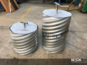 corrugated steel pipe special application nuclear material transport