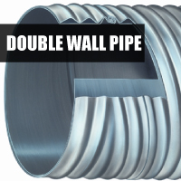 Double Wall Pipe Button