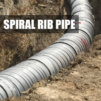 Spiral Rib Pipe Button