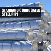 Standard Corrugated Steel Pipe Button